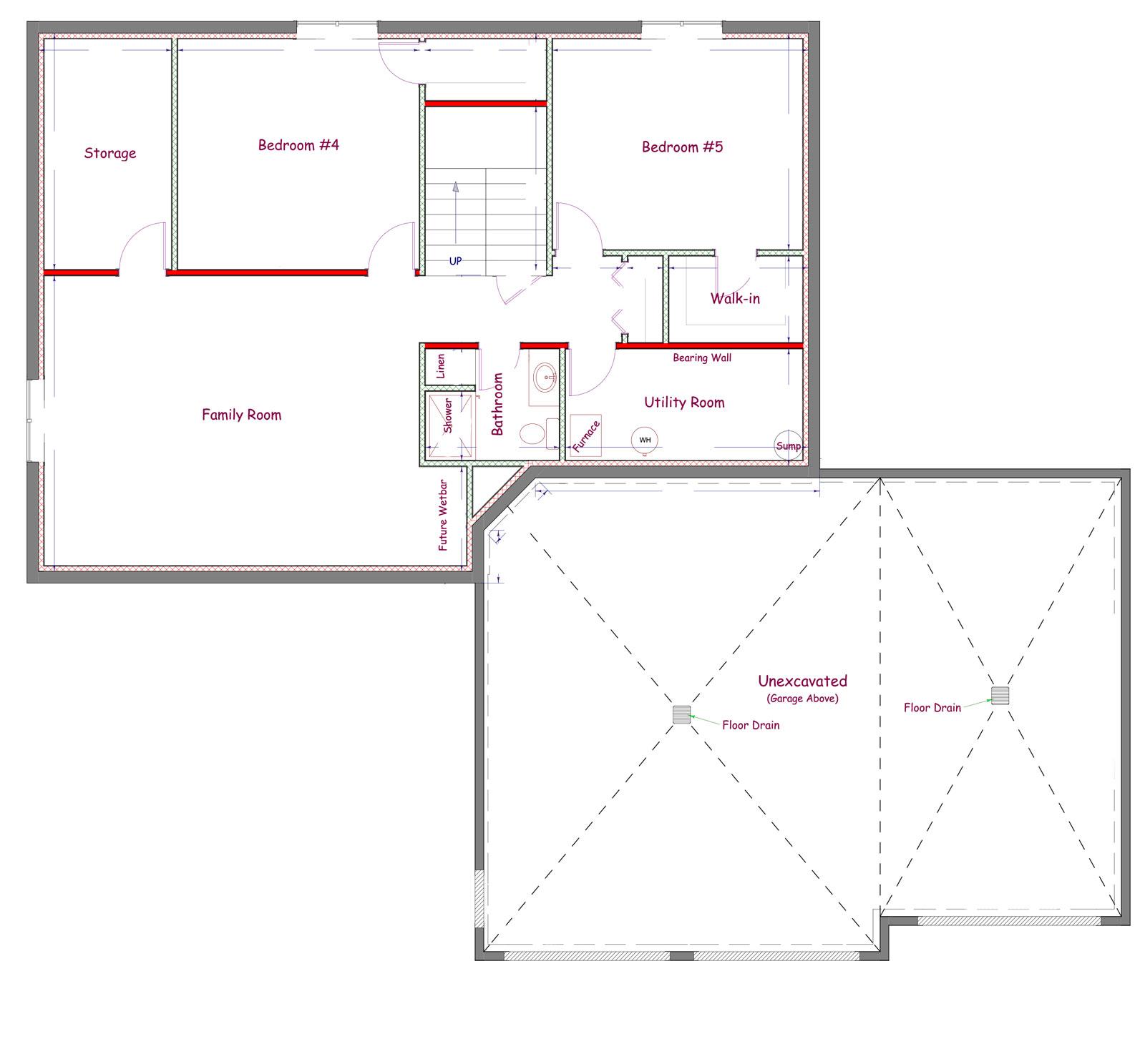 Proline Two Story Floor Plan
