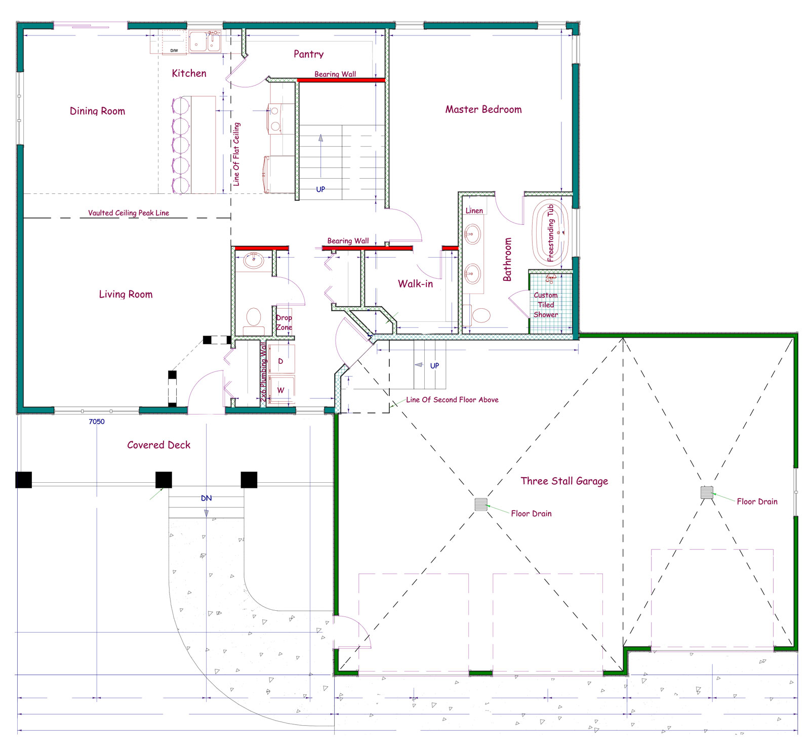 Proline Two Story Floor Plan